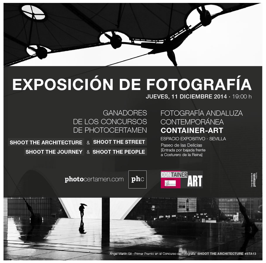 Expo Photocertamen en Container-Art Sevilla